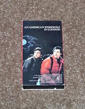 *VINTAGE* 1985 AN AMERICAN WEREWOLF IN LONDON (1981) VHS VIDEO Vestron Naughton
