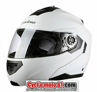 Casque Moto / Scooter Modulable S-line S520 Blanc L