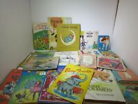 Lot Of 19 Vtg Children's Books Animals, Disney, for Crafts and Cut Outs
