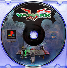 Vanark (PS1) Game Only - Clean,Tested & Fast Shipping