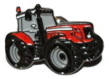 Red Massey Ferguson Tractor Pin Badge Farming Gift Massey Enamel Metal