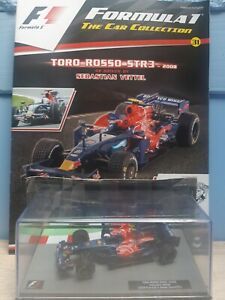 F1 Car Collection Diecast 1:43 - Toro Rosso STR3 Sebastian Vettel - Unopened