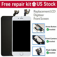 For iPhone 7 8 6S 6 LCD Display Touch Screen Replacement Assembly Button Camera
