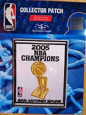 Official San Antonio Spurs 2005 NBA Championship Iron or Sew on Banner Patch