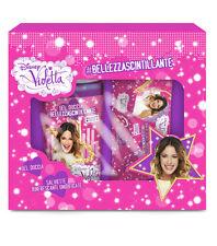 Cofanetto DISNEY VIOLETTA gel doccia 300ml + 15 salviettine umidificate NUOVO