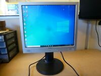 PC/CCTV Monitor Belinea 10 17 17 (11 17 56) 17 Inch LCD With Built-in Speakers