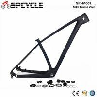 "12mm Thru Axle Included Toray Carbon 29ER Mountain Bike BSA 19/"" MTB Frame 142"