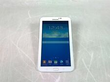 "Samsung Galaxy Tab 3 7.0 White 7"" 8GB Android Tablet Wifi Factory Reset No PSU"