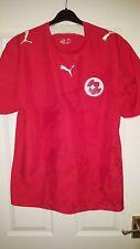 Mens Football Shirt - Switzerland National Team - Home 2006-2008 - Puma - L