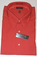 "ARROW NECK SZ 18 1/2"" (XXL) LONG SLEEVE DRESS SHIRT - TERRA - NWT"