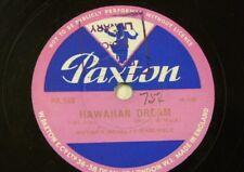 Bibliothèque 78 tr/min musique Meyers Nouveauté ensemble Hawaiian Dream/Lustige Leute pr 545