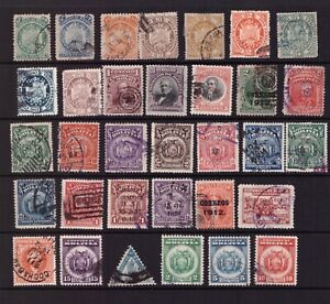 Bolivia used stamps selection