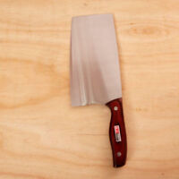 Chinese Chef Knife Wooden Handle Kitchen Sashimi Cook Knife Cutlery Fish  v_e
