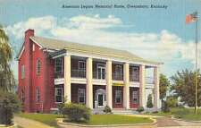 Owensboro Kentucky American Legion Memorial Home Antique Postcard K56965