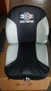 Dixie Chopper OEM Suspension 2 Tone 645 Seat 400321, 402006 Classic, X Claliber