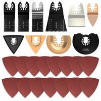 25pcs Mix Oscillating Saw Blade For Fein Bosch Dremel Makita Multi Tool US