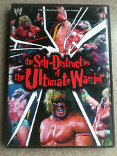 WWE: The Self-Destruction of the Ultimate Warrior (DVD, 2002) VG w/ Insert