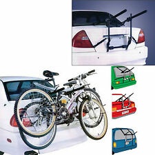 2 Bike Carrier Bicycle Car Rack Mounted Universal Bike Cycle Cars Rear Holder