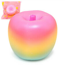 Jumbo Colorful Squishy Rainbow Apple Squishies Cream Scented Slow Rising Squeeze