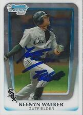 Keenyn Walker Chicago White Sox 2011 Bowman Chrome Signed Card