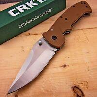 CRKT Crawford Kasper 8Cr14MoV Blade Large Everyday Carry Folding Pocket Knife