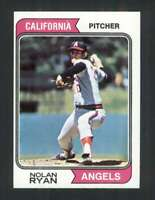 1974 Topps #20 Nolan Ryan NM/NM+ Angels 114589