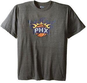 Phoenix Suns NBA Mens Majestic On Court Shirt Charcoal Big & Tall Sizes