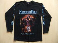 HammerFall - Europe 2007 M Longsleeve T-Shirt Stratovarius Helloween Gamma Ray