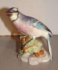 Royal Worcester #3646 Blue Jay Bird Figurine