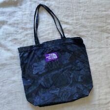 The North Face Purple Label Tote Japanese Limited Edition Navy FloralPrint Japan