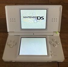 Nintendo White DS Lite Handheld Game Console