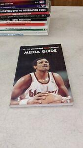 1987-88 Portland Trailblazers NBA Basketball Media Guide