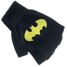 Puma Batman DC Comics Children Youths Boys Gloves Black Grey 041283 01 UW7
