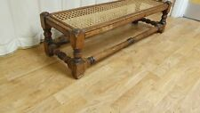 Vintage Wood and Rattan/Wicker Coffee table