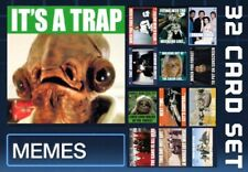 MEMES-FRIEND ZONED-APRIL FOOLS DAY-32 CARD SET-TOPPS STAR WARS CARD TRADER