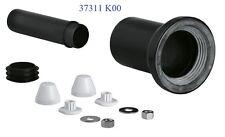 GROHE 90mm Ingresso & Scarico Uscita Tubo Kit 4 Wall Hung Toilet RAPID TELAIO VASCHETTA