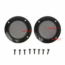 10 X 2inch Speaker Dust Cover Metal Mesh Grille Protection Decorative Circle