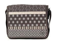 Lässig Casual Messenger Bag Tasche Wickeltasche Umhängetasche Braun Multimix