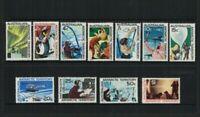 AAT61) Australian Antarctic Territory 1966/68 Definitives MUH