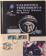 Walentina Tereschkowa 2x signiert V. Tereshkova + Walerie Bykowski Autogramm