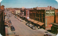 1950s View Central Avenue Theater Marquee Birdseye Fach Roberts CANADA 4307