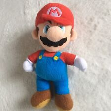 Official Super Mario Soft Toy Plush Teddy Official Nintendo 2010 Red Hat 10""