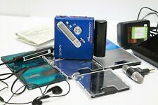 Sony MZ-N710S MiniDisc Player + Charger + 13 Discs + Microphone - 250