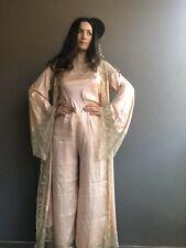 Pink Silk Lace 3 Piece Size 8