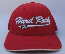 HARD ROCK CAFE LAS VEGAS Baseball Cap Hat Size L/XL Stretch Fit Red