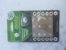 Golf Dotz ID Ball Marker Transfers - Hearts & Flowers