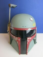 RARE star wars BOBA FETT HELMET electronic TALKING cosplay HASBRO adult 82M