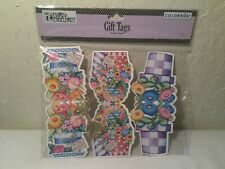 Mary Engelbreit Flower Pot Gift Tags Package of 6 New