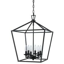Bel Air Lighting Lacey 6-Light Dimmable Oil Rubbed Bronze Pendant