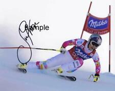 LINDSEY VONN #1 REPRINT 8X10 AUTOGRAPHED SIGNED PHOTO PICTURE MAN CAVE GIFT